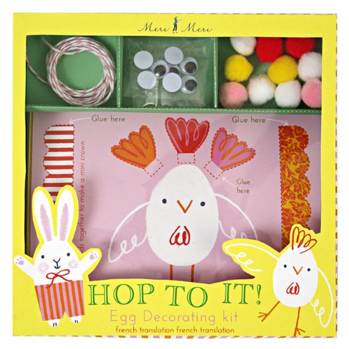 Meri Meri Decorating Kit Easter Egg - Hop to It