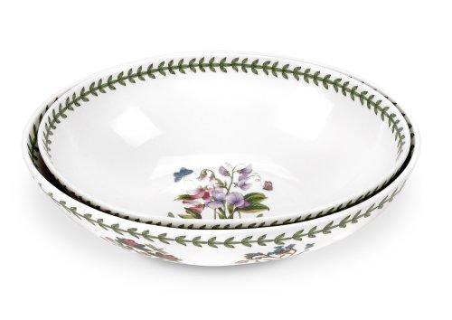 Portmeirion Botanic Garden Oval Bowl Set of 2 11 1025