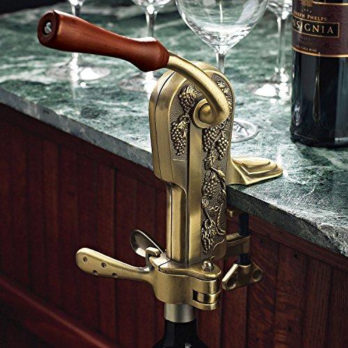 Wine Enthusiast Legacy Corkscrew Antique Bronze