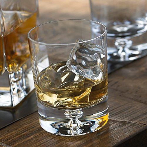 Wine Enthusiast Lexington Whiskey Glasses Set of 2 Clear