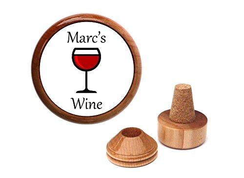 Wine gift idea  accessory  for wine lover  drinker  Personalized wine bottle stopper