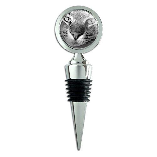 Domestic Shorthair Tabby Cat Wine Bottle Stopper