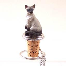 Siamese Cat Wine Bottle Stopper - CTB18