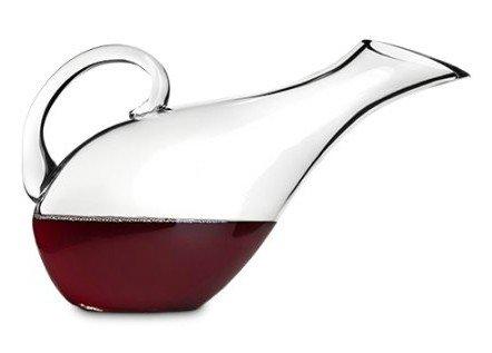 Wine Decanter Mallard Duck - Glass