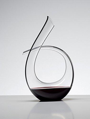 Lead-free crystal glass decanter handmade wine glass bottle 1300ml transparent