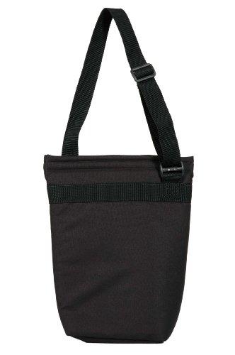 chill-n-go Vintage Two Bottle Bag - Insulated Wine Bottle Bag Black