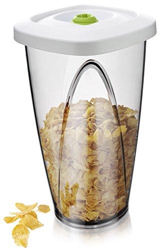 Vacu Vin Food Vacuum Storage Container - Large 230 Liter White