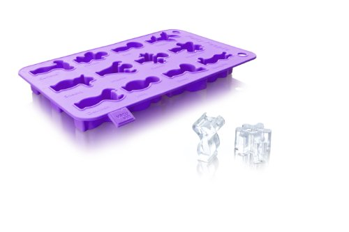 Vacu Vin Ice Cube and Baking Tray Purple