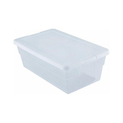Sterilite Storage Box 135 X 83 X 48 6 Qt Clear - Pack of 2