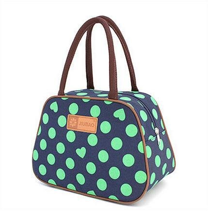 Magicoo Lovely Cute Picnic Lunch Bag Tote Food Storage Containers Dot-1