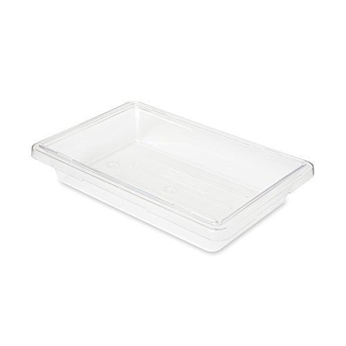 Rubbermaid Commercial FG330700CLR FoodTote Box 2-gallon