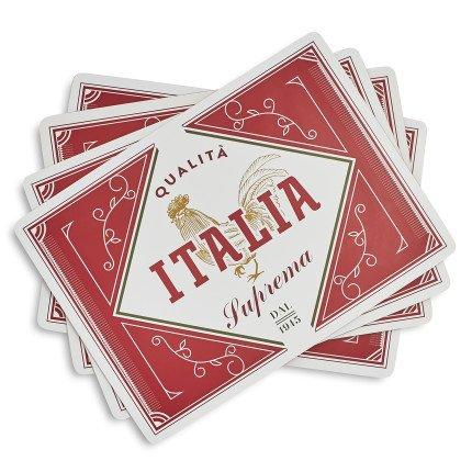 Sur La Table Italia Cork-Backed Placemats A03098  115 x 1575 Set of 4