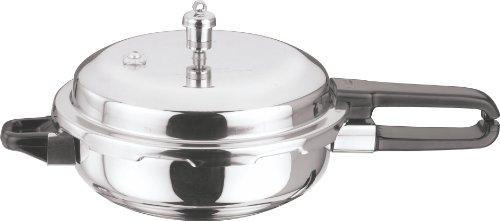 Vinod P-Jum Splendid Stainless Steel Sandwich Bottom Pressure Pan Jumbo