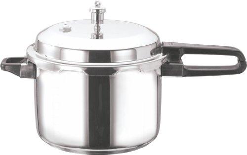 Vinod V-5L Stainless Steel Sandwich Bottom Pressure Cooker 5-Liter