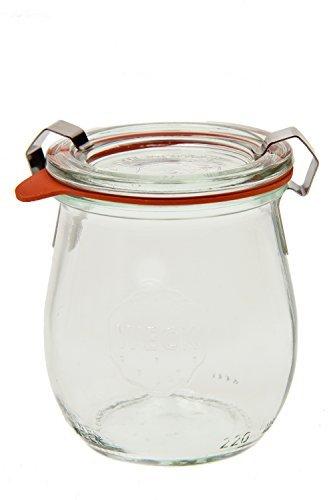 Weck 762 Jelly Jar - 15 Liter Set of 6