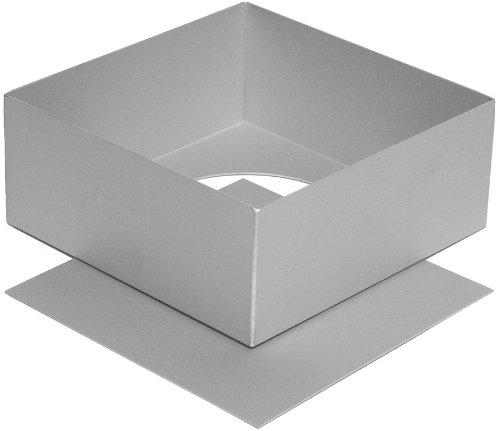 Silverwood Loose Base Square Cake Tin - 7 Inch