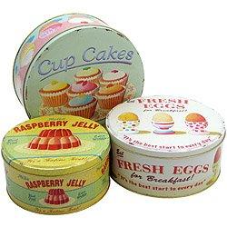 Coffee Break Cake Tin Set 3