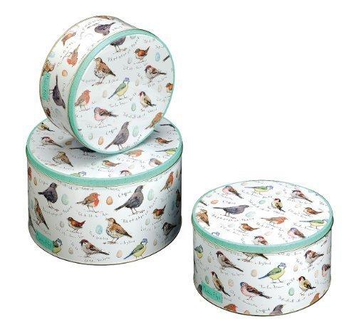 Madeline Floyd Birdsong Round Cake Tins Set of 3