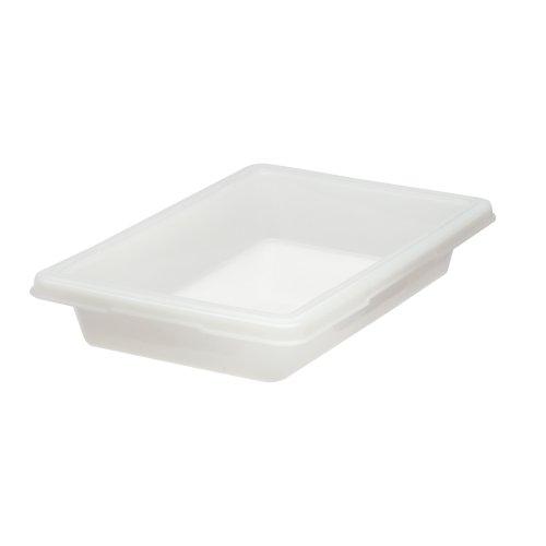 Rubbermaid Commercial Food Tote Box 2 Gallon White FG350700WHT