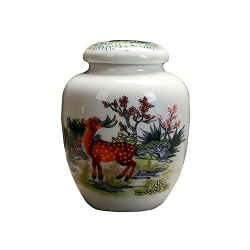 Kungfu Alien Chinese Handmade Ceramics Tea Tins Tea Coffee Storage Jars Candy Jar