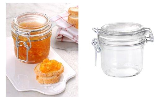 12 Pack of 200g 7 Oz Fido Hermetic Terrine Canning Storage Jars