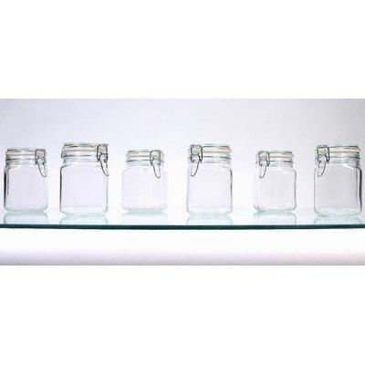 25 oz Hermetic Jar Set of 6