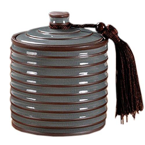 700 ML Chinese Tea Caddy Tea Container Snack Pot Tea Coffee Storage Jar