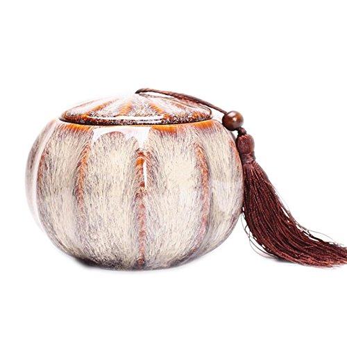 Chinese Style Tea Tins Tea Coffee Storage Jars Squirrel Shape Nice Home Decor
