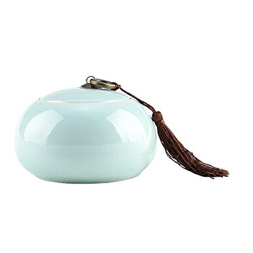 Creative Glass Jar SugarJamSnack Pot Tea Coffee Storage JarE