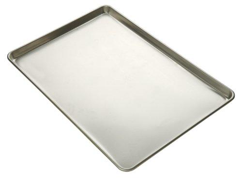 Focus Foodservice Commercial Bakeware 20-Gauge Natural Finish Aluminum-Sheet Pan Full-Sheet