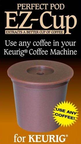 Perfect Pod EZ-Cup Refillable Capsule Keurig 10 compatible