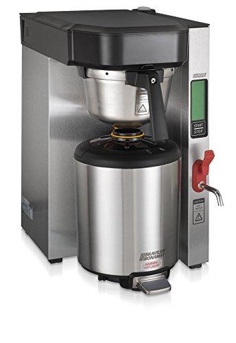 Bravilor Bonamat 804007821004-240V Single Tank Low Profile Thermal Coffee Brewer 15 gal Stainless Steel 240V