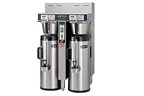 Fetco Dual 20 Gallon Thermal Coffee Brewer Cbs-52H-20-C53046