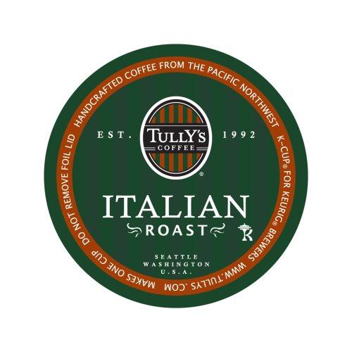 Tullys Coffee Italian Roast 24-Count K-Cups for Keurig Brewers Pack of 2