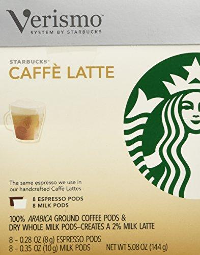Starbucks Café Latte Verismo™ Pods