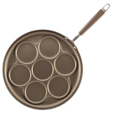12-Inch Advanced Umber Silver Dollar Pancake Pan