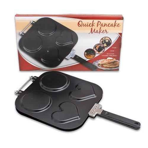 Four Seasons General Merchandise 99021 Pancake Maker Pan with Handle 975 Black