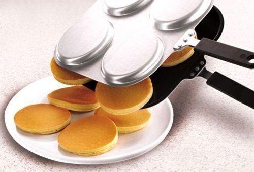 Wakrays Non Stick Pancake Pan Flip Perfect Pancake Maker Breakfast Omelette Eggs Flipjac