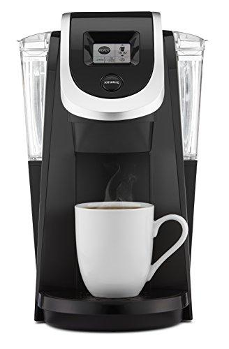 Keurig K250 Single Serve Programmable K-Cup Pod Coffee Maker Black