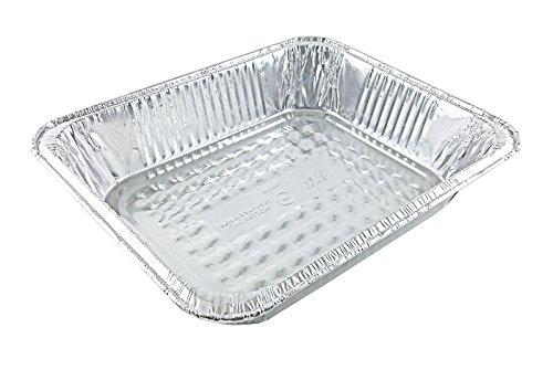 Handi-Foil Half-Size Deep Aluminum Foil Steam Table Disposable Pan - pack of 50