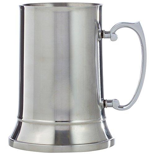 Maxam KTBMUG Stainless Steel Beer Mug 20 oz NA