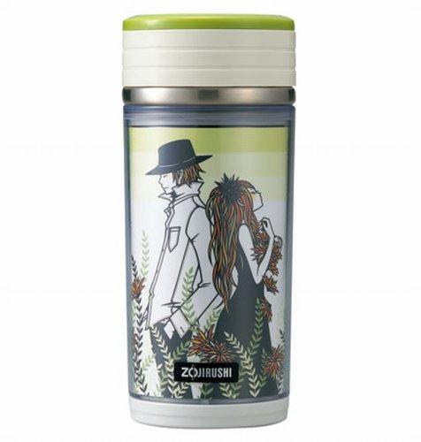 Zojirushi SM-BA35GA 11-Ounce D-Mug Stainless Mug Green