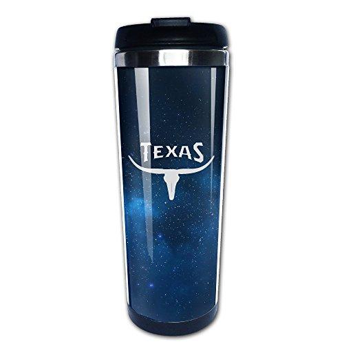 Texas Longhorns Logo Stainless Travel Coffee Mug