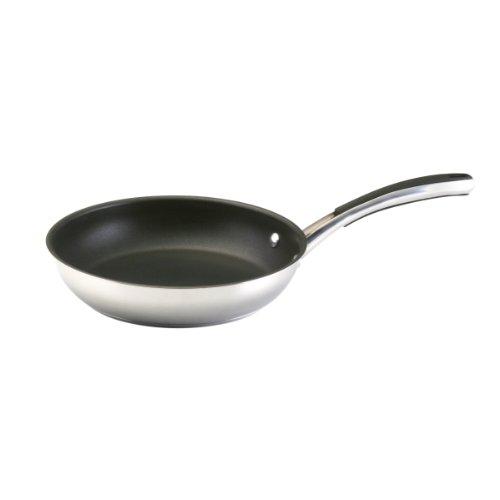 Farberware 71785 Millennium Stainless Steel Nonstick Frying Pan  Fry Pan  Skillet  - 10 Inch Silver