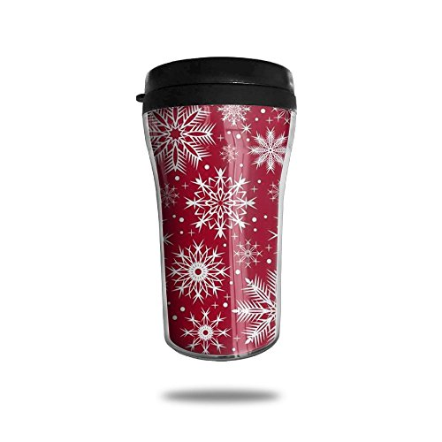 Christmas Snowflakes Coffee Mug Mini Travel Coffee Mug Funny Coffee Cup 250 ML