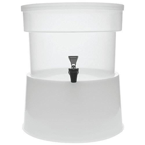 Carlisle 3 gal Complete Polypropylene Beverage Dispenser Set