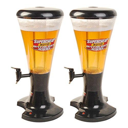 Goplus 3L Cold Draft Beer Tower Beverage Dispenser with LED Lights New 2