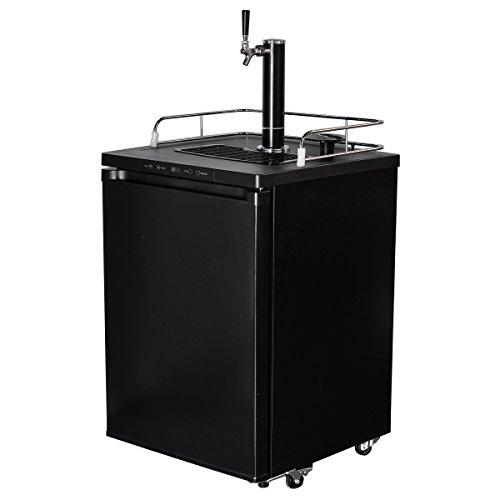 Smad Full Size beer Dispenser Free Standing Keg Beer Cooler56 cu ft