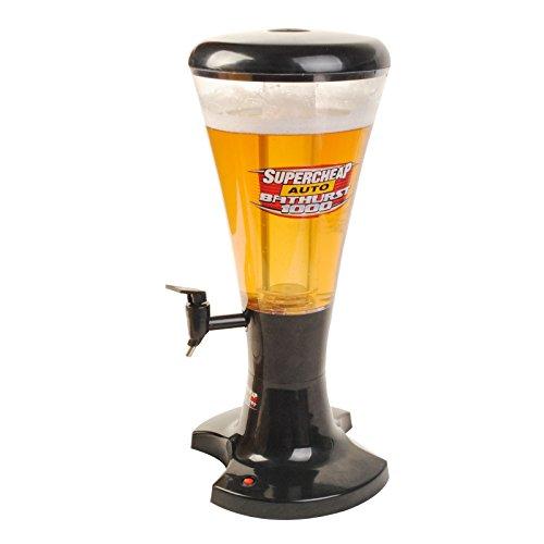 Super buy 3L Plastic with LED Shinning Lights Tabletop Beer Tower Beverage Dispenser