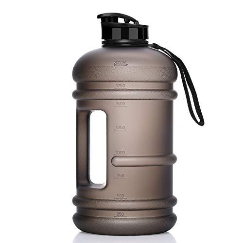 Homiguar Water Jug Half Gallon Large Water Bottle 75oz 22L BPA-Free Water Bottle Dishwasher Safe Leakproof